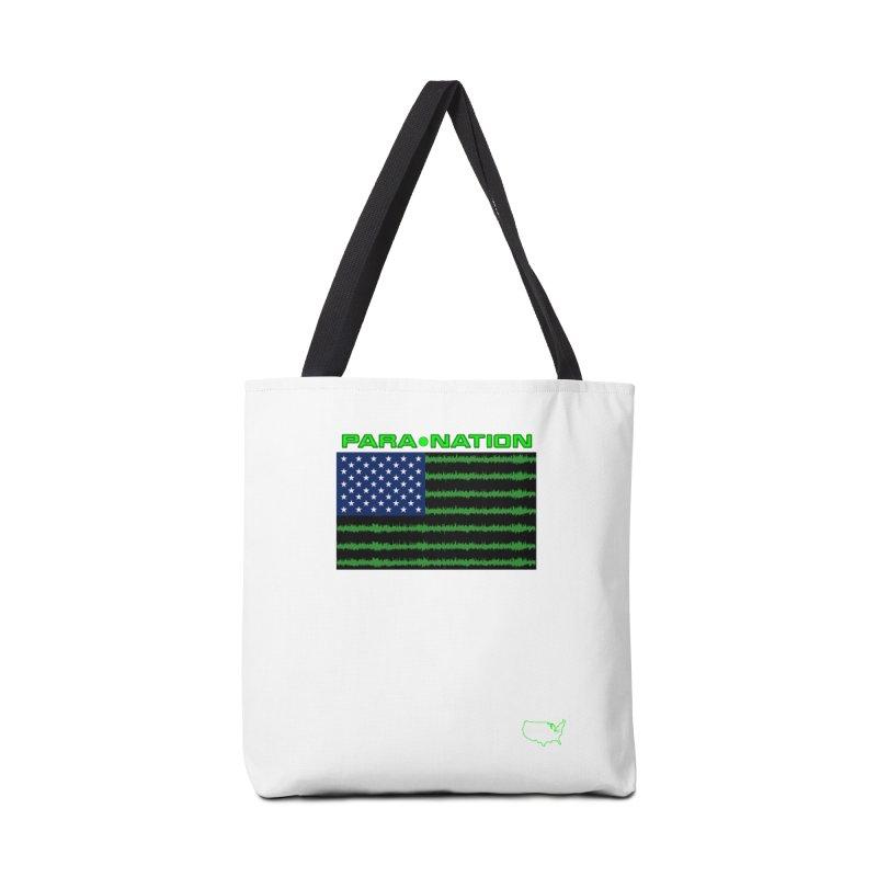 New Paranation Tee Accessories Bag by DesignsbyAnvilJames's Artist Shop