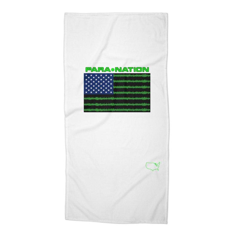 New Paranation Tee Accessories Beach Towel by DesignsbyAnvilJames's Artist Shop