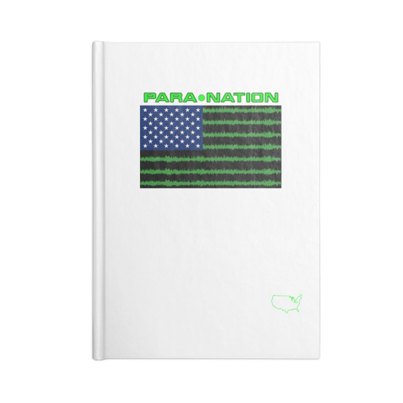 New Paranation Tee Accessories Notebook by DesignsbyAnvilJames's Artist Shop