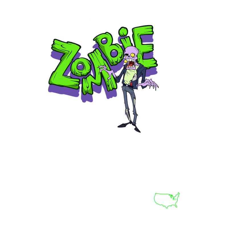Zombie 01 Dark tee Men's Tank by DesignsbyAnvilJames's Artist Shop