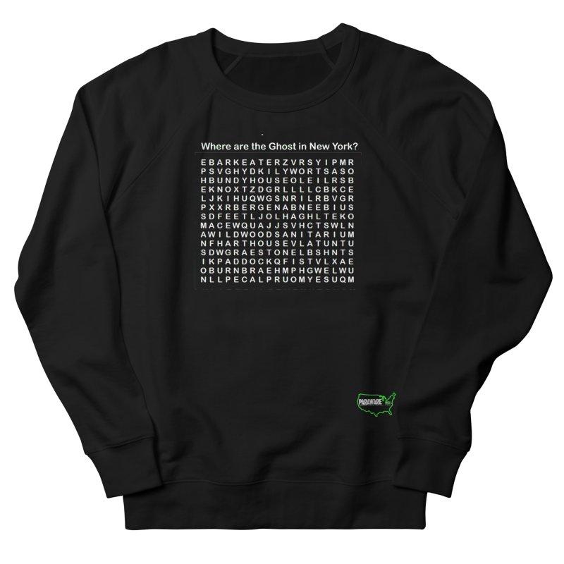 Haunted Wordsearch Women's Sweatshirt by DesignsbyAnvilJames's Artist Shop