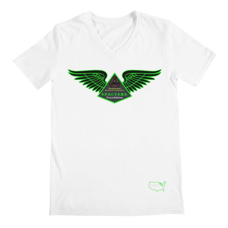 SPECTERS Wings Men's V-Neck by DesignsbyAnvilJames's Artist Shop