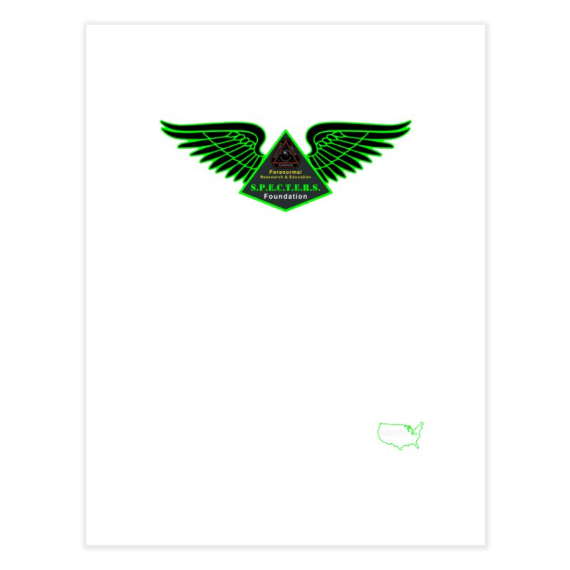 SPECTERS Wings Home Fine Art Print by DesignsbyAnvilJames's Artist Shop