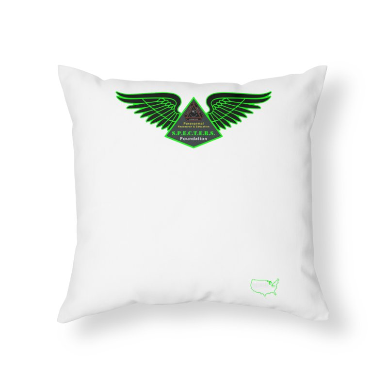 SPECTERS Wings Home Throw Pillow by DesignsbyAnvilJames's Artist Shop