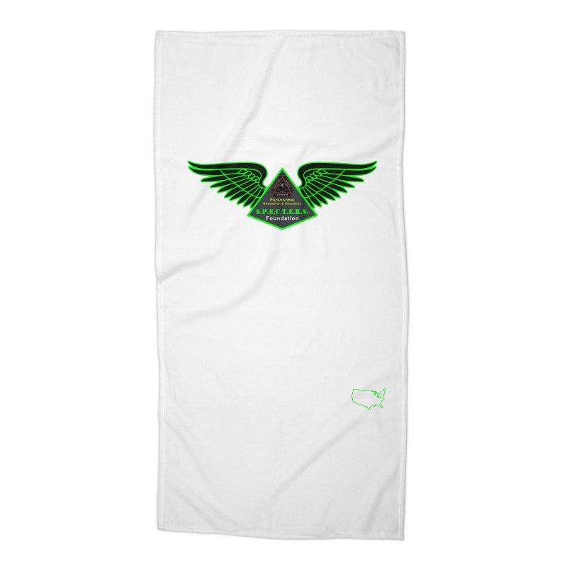 SPECTERS Wings Accessories Beach Towel by DesignsbyAnvilJames's Artist Shop