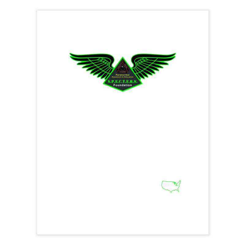 SPECTERS Wings Home Fine Art Print by DesignsbyAnvilJames's Artist Shop