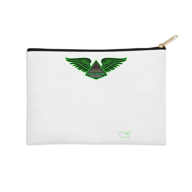 SPECTERS Wings Accessories Zip Pouch by DesignsbyAnvilJames's Artist Shop