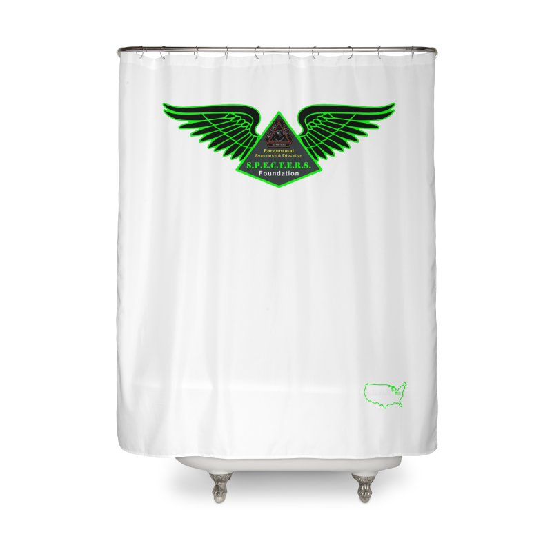 SPECTERS Wings Home Shower Curtain by DesignsbyAnvilJames's Artist Shop