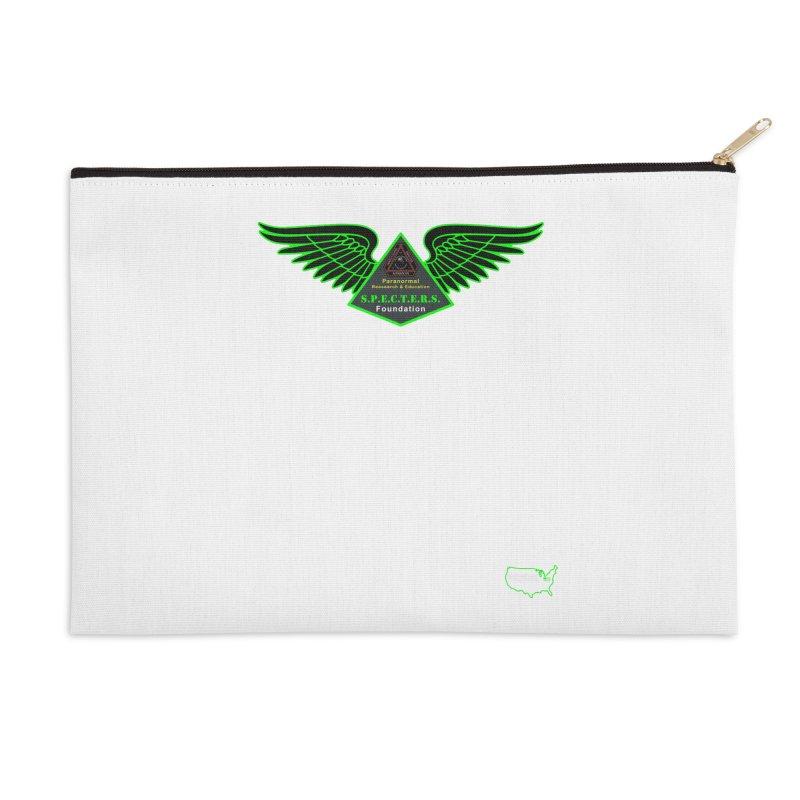 SPECTERS Wings Accessories Zip Pouch by DesignsbyAnvilJames's Artist Shop