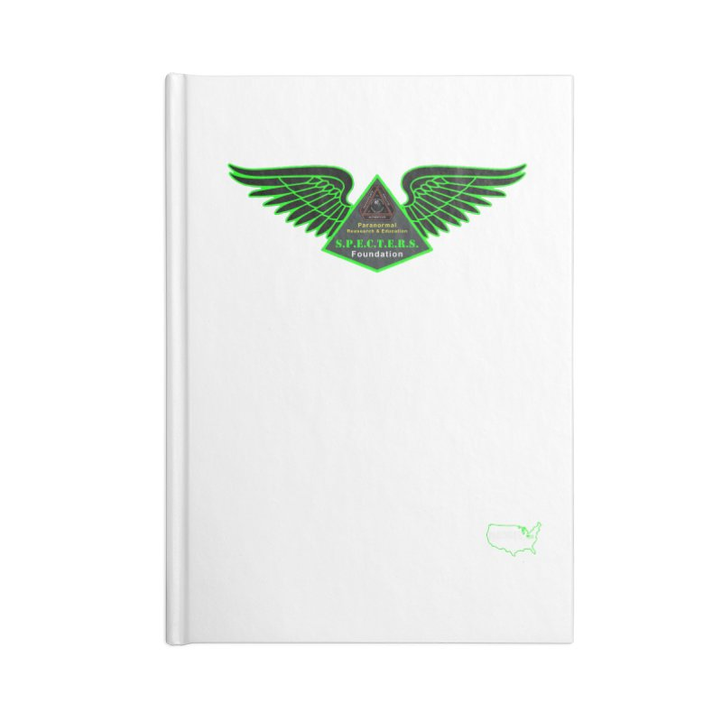 SPECTERS Wings Accessories Notebook by DesignsbyAnvilJames's Artist Shop