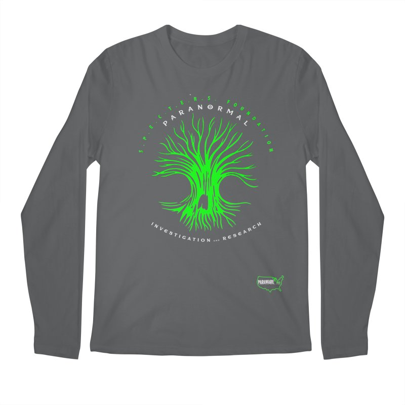 Screaming Tree (green) Men's Longsleeve T-Shirt by DesignsbyAnvilJames's Artist Shop