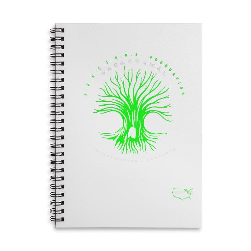 Screaming Tree (green) Accessories Notebook by DesignsbyAnvilJames's Artist Shop