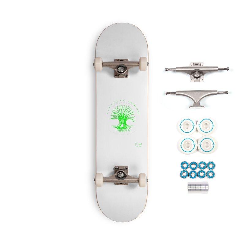 Screaming Tree (green) Accessories Skateboard by DesignsbyAnvilJames's Artist Shop