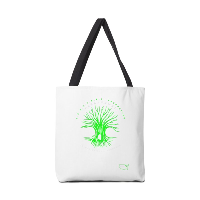Screaming Tree (green) Accessories Bag by DesignsbyAnvilJames's Artist Shop
