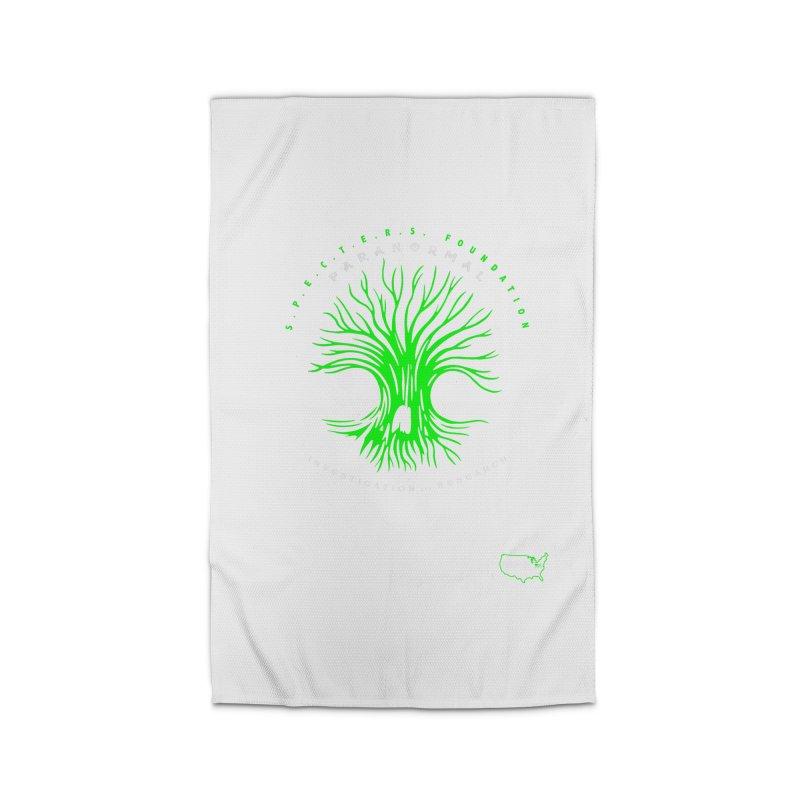 Screaming Tree (green) Home Rug by DesignsbyAnvilJames's Artist Shop