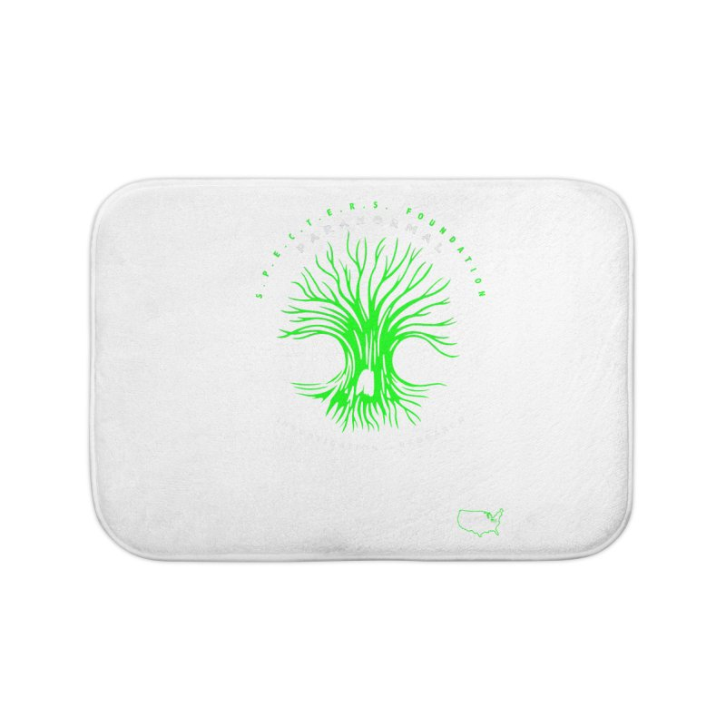 Screaming Tree (green) Home Bath Mat by DesignsbyAnvilJames's Artist Shop