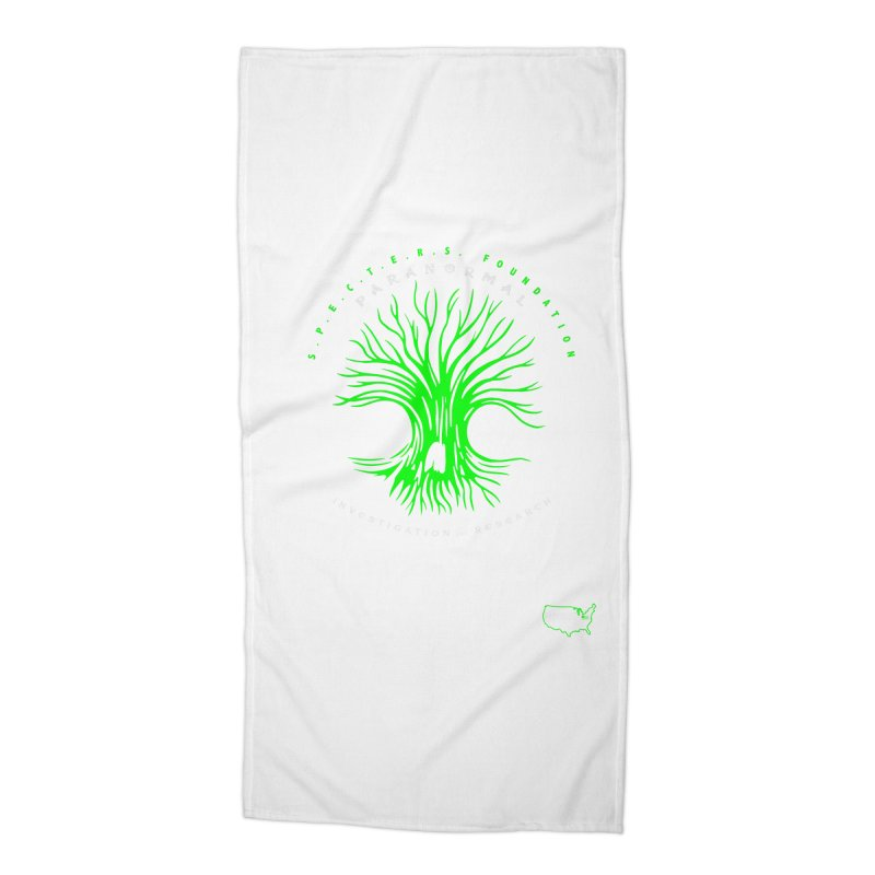 Screaming Tree (green) Accessories Beach Towel by DesignsbyAnvilJames's Artist Shop