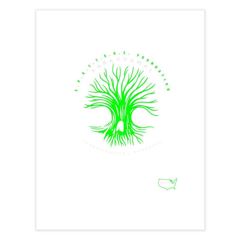 Screaming Tree (green) Home Fine Art Print by DesignsbyAnvilJames's Artist Shop