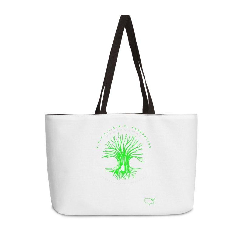 Screaming Tree (green) Accessories Bag by DesignsbyAnvilJames's Artist Shop