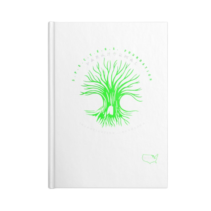 Screaming Tree (green) Accessories Notebook by DesignsbyAnvilJames's Artist Shop