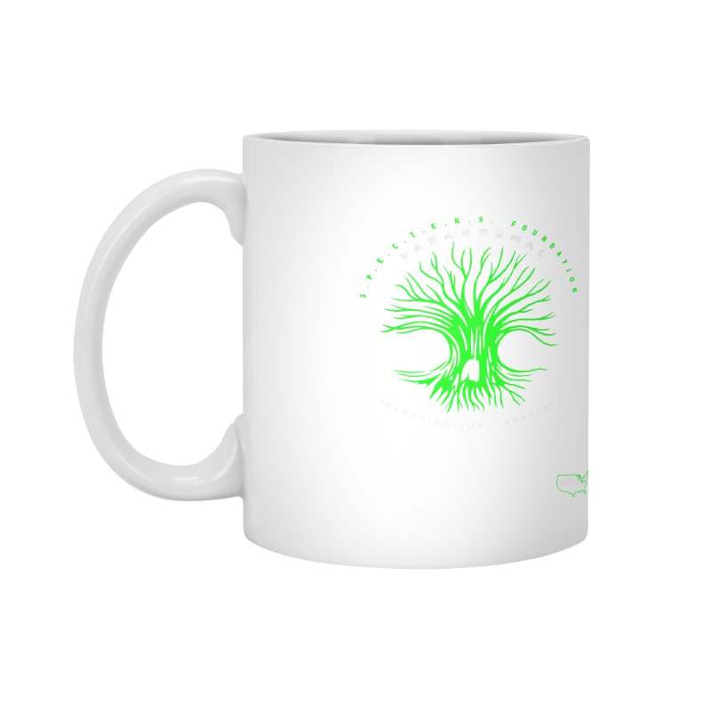 Screaming Tree (green) Accessories Mug by DesignsbyAnvilJames's Artist Shop