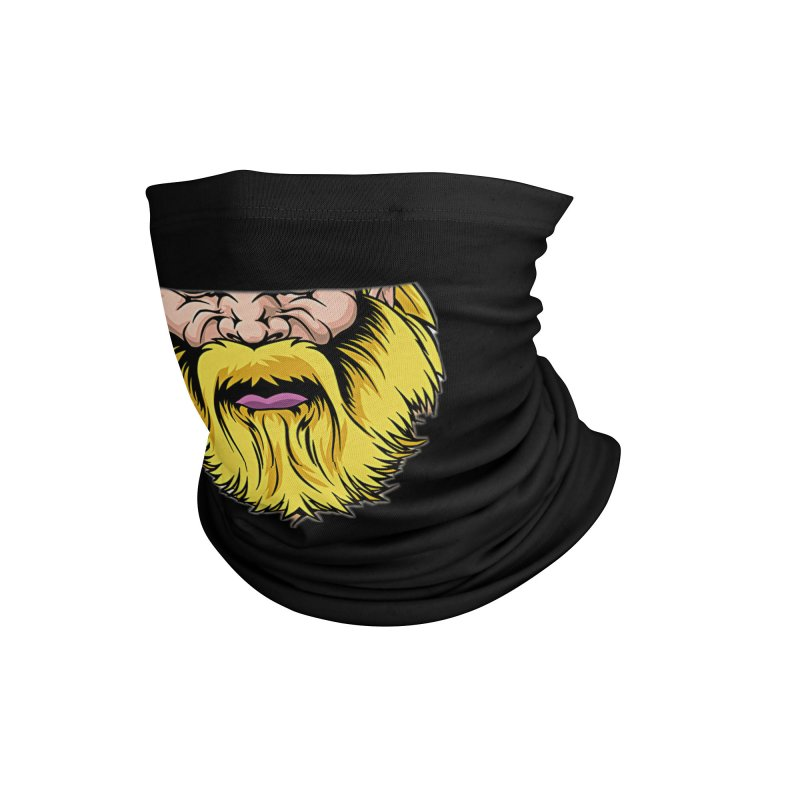 Yellow Beard Accessories Neck Gaiter by DesignsbyAnvilJames's Artist Shop