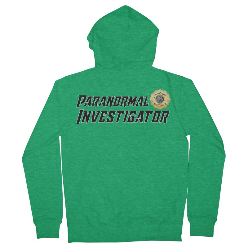 Paranormal Investigator (World) Men's Zip-Up Hoody by DesignsbyAnvilJames's Artist Shop