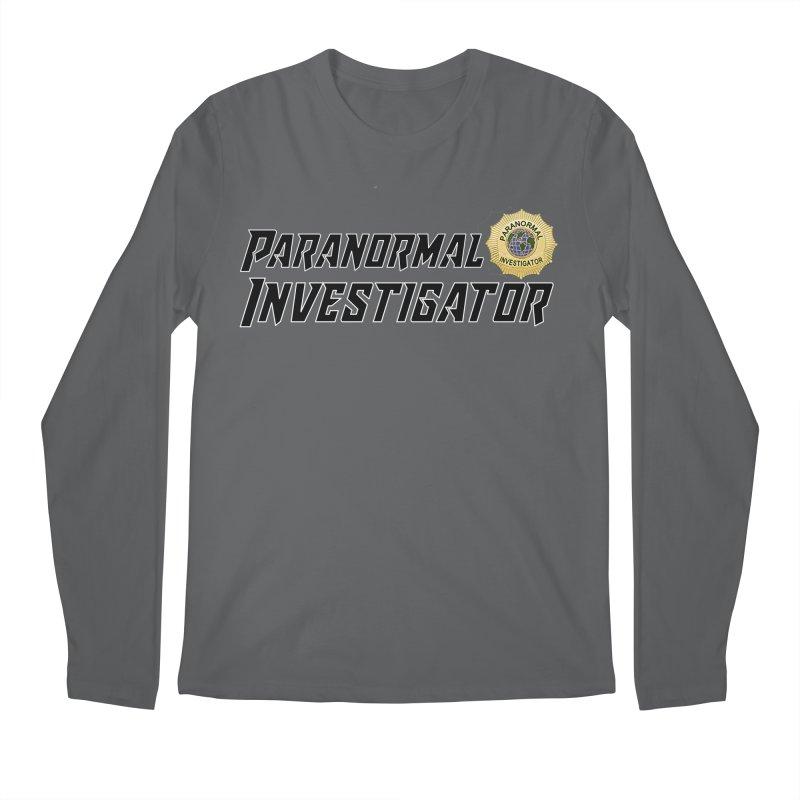 Paranormal Investigator (World) Men's Longsleeve T-Shirt by DesignsbyAnvilJames's Artist Shop