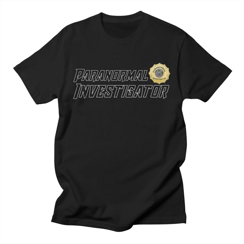 Paranormal Investigator (World) Men's T-Shirt by DesignsbyAnvilJames's Artist Shop