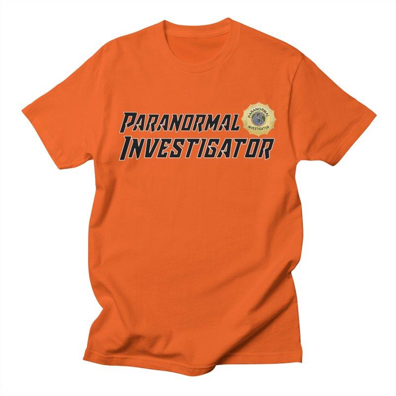 Paranormal Investigator (World) Men's T-Shirt by DesignsbyAnvilJames's Artist Shop