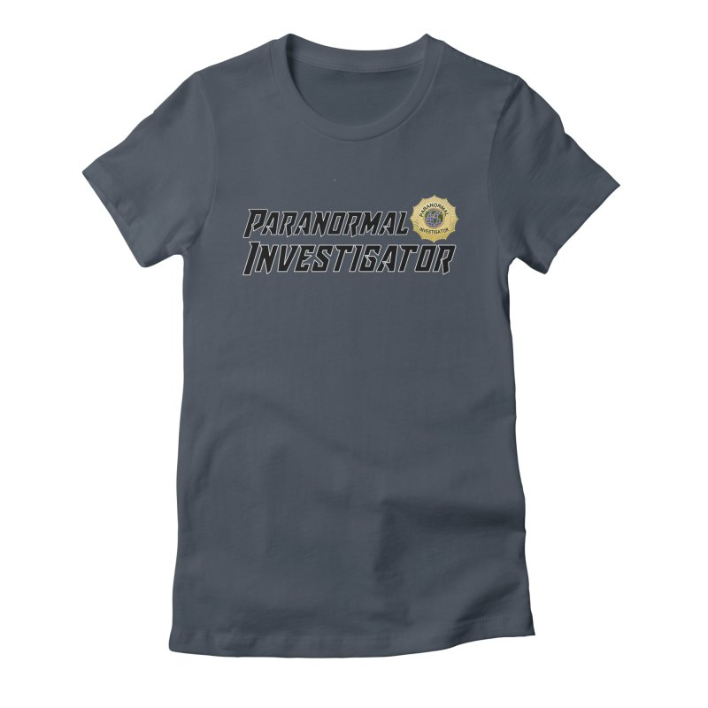 Paranormal Investigator (World) Women's T-Shirt by DesignsbyAnvilJames's Artist Shop
