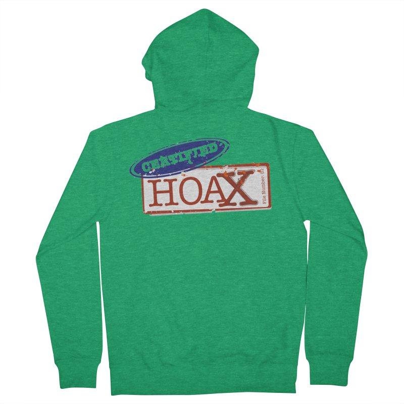 HOAX Men's Zip-Up Hoody by DesignsbyAnvilJames's Artist Shop