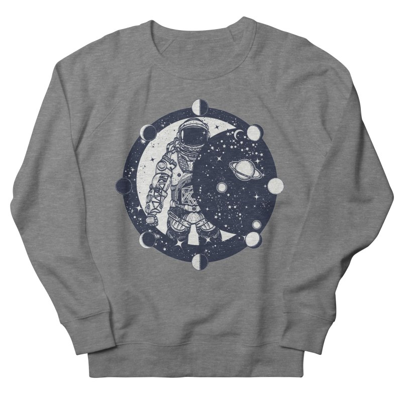 SPACEMAN Women's French Terry Sweatshirt by DesignsbyAnvilJames's Artist Shop
