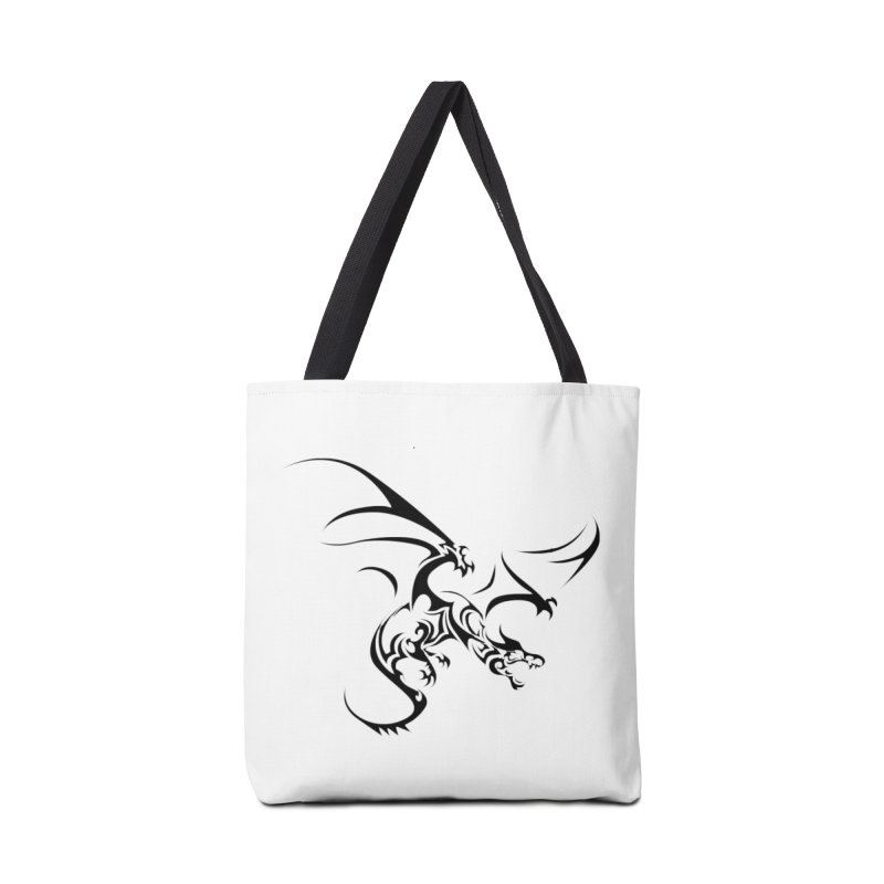 Tribal Dragon Accessories Bag by DesignsbyAnvilJames's Artist Shop