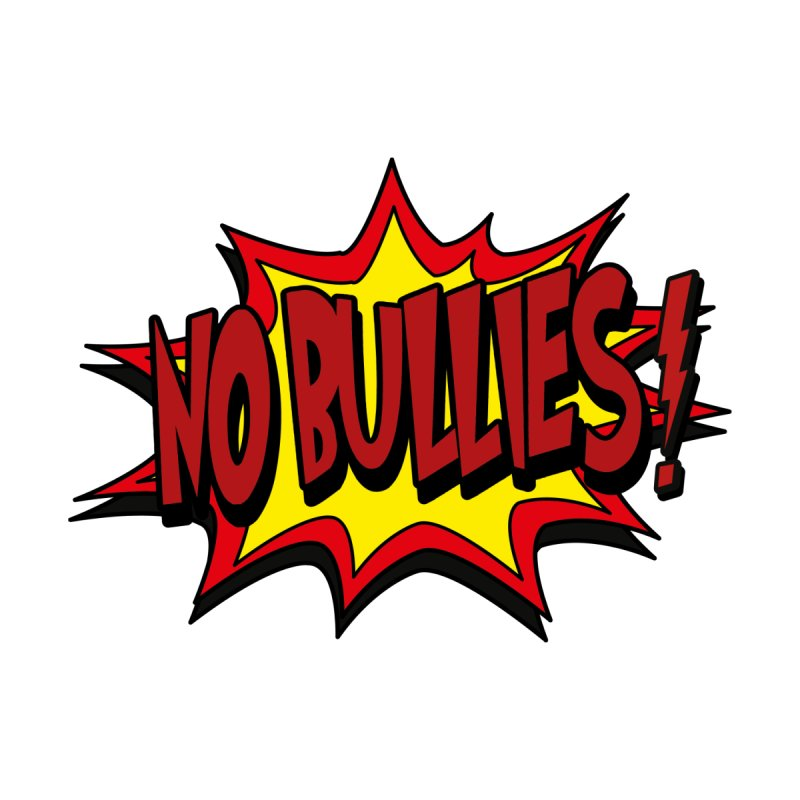 No BULLIES Men's T-Shirt by DesignsbyAnvilJames's Artist Shop