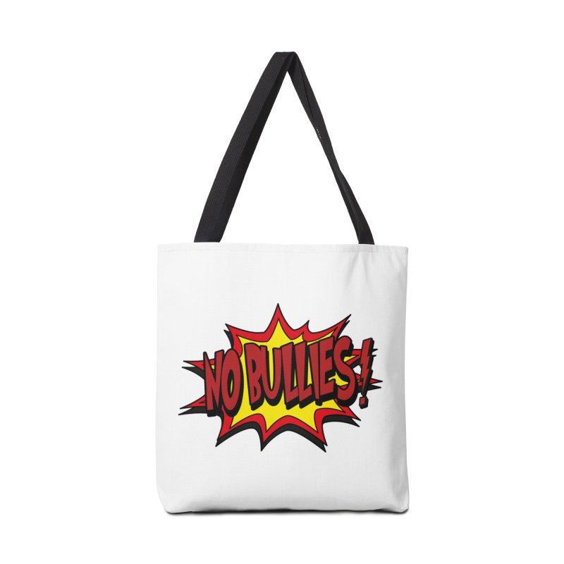 No BULLIES Accessories Bag by DesignsbyAnvilJames's Artist Shop