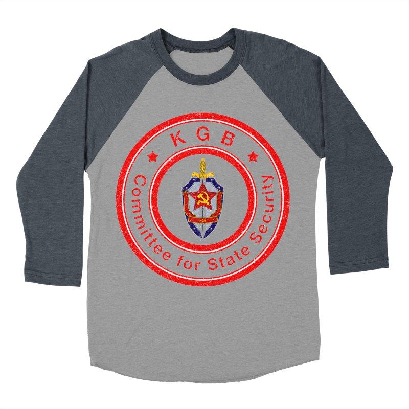 OLD KGB Women's Baseball Triblend Longsleeve T-Shirt by DesignsbyAnvilJames's Artist Shop