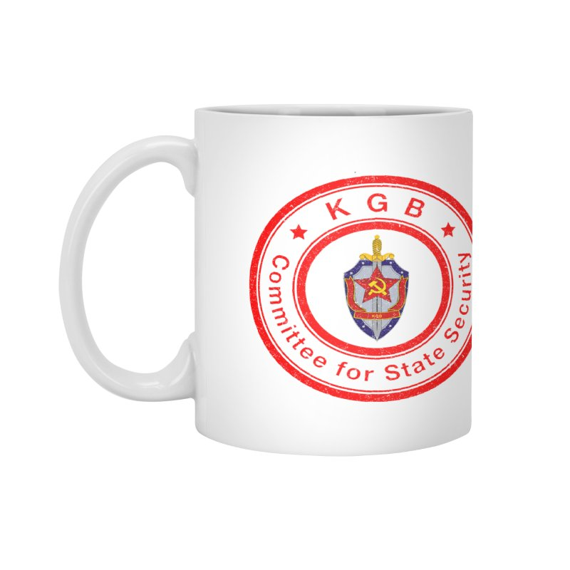 OLD KGB Accessories Mug by DesignsbyAnvilJames's Artist Shop