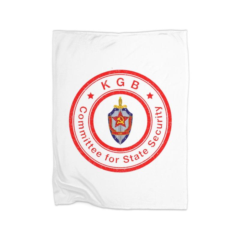 OLD KGB Home Fleece Blanket Blanket by DesignsbyAnvilJames's Artist Shop