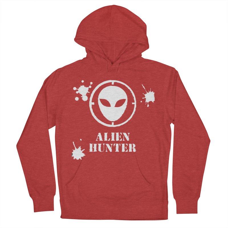 Alien Hunter Men's French Terry Pullover Hoody by DesignsbyAnvilJames's Artist Shop