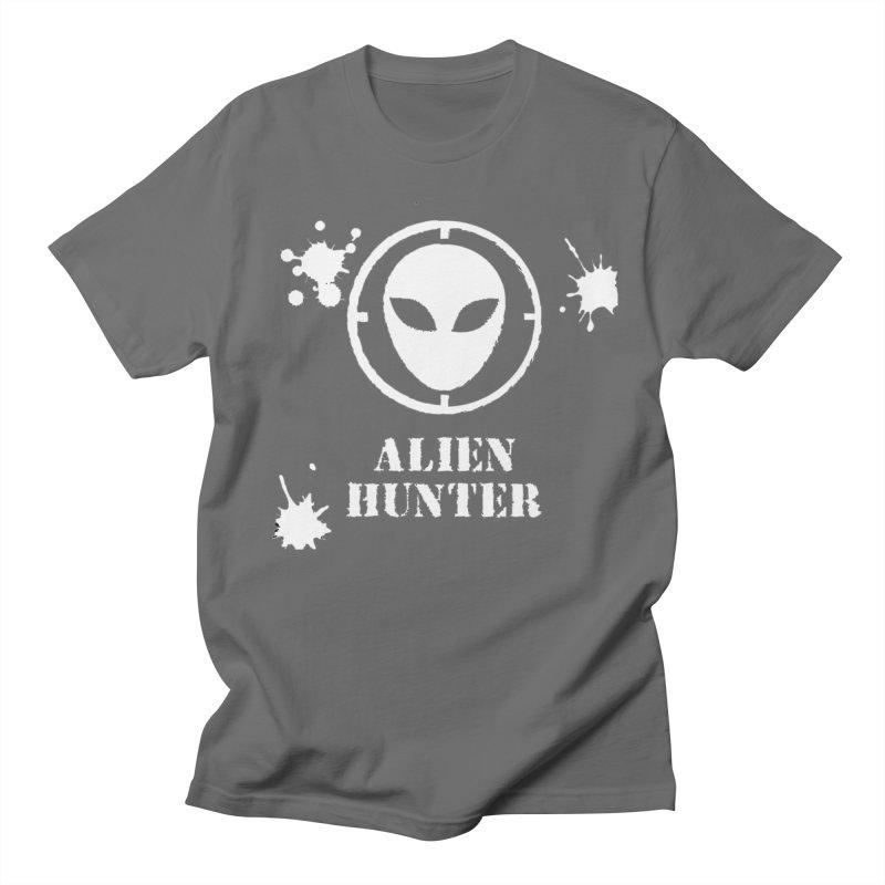 Alien Hunter Men's T-Shirt by DesignsbyAnvilJames's Artist Shop