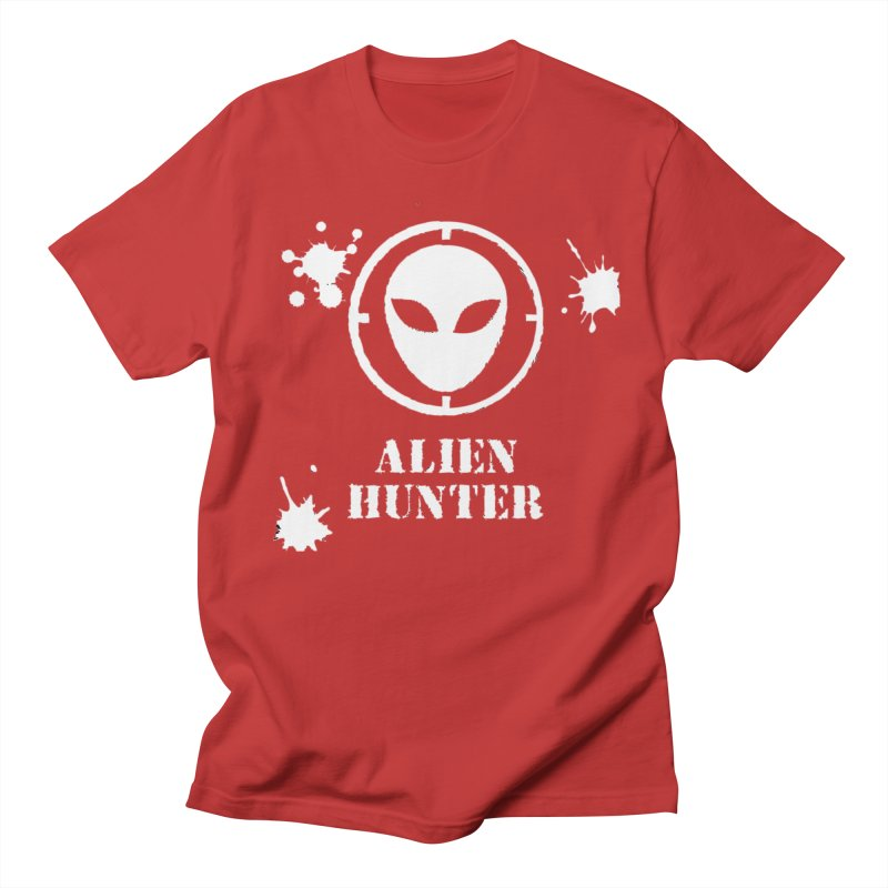 Alien Hunter Men's Regular T-Shirt by DesignsbyAnvilJames's Artist Shop