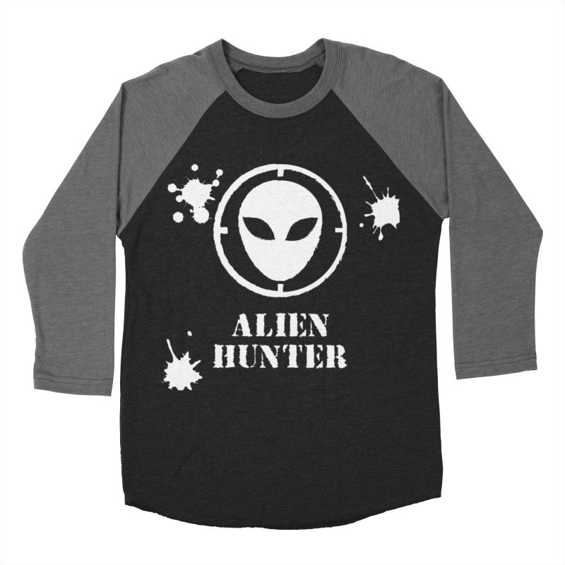 Alien Hunter Women's Baseball Triblend Longsleeve T-Shirt by DesignsbyAnvilJames's Artist Shop