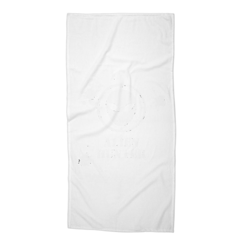 Alien Hunter Accessories Beach Towel by DesignsbyAnvilJames's Artist Shop