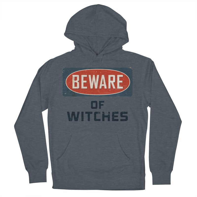 Bware Witch Men's French Terry Pullover Hoody by DesignsbyAnvilJames's Artist Shop