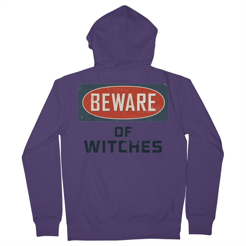 Bware Witch Women's French Terry Zip-Up Hoody by DesignsbyAnvilJames's Artist Shop