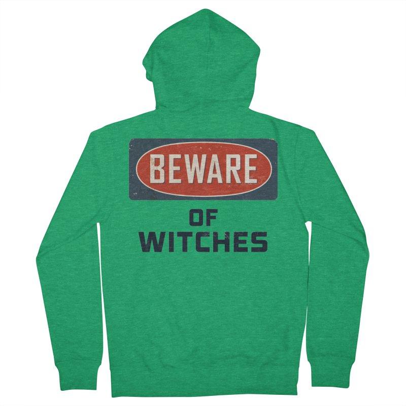 Bware Witch Men's Zip-Up Hoody by DesignsbyAnvilJames's Artist Shop