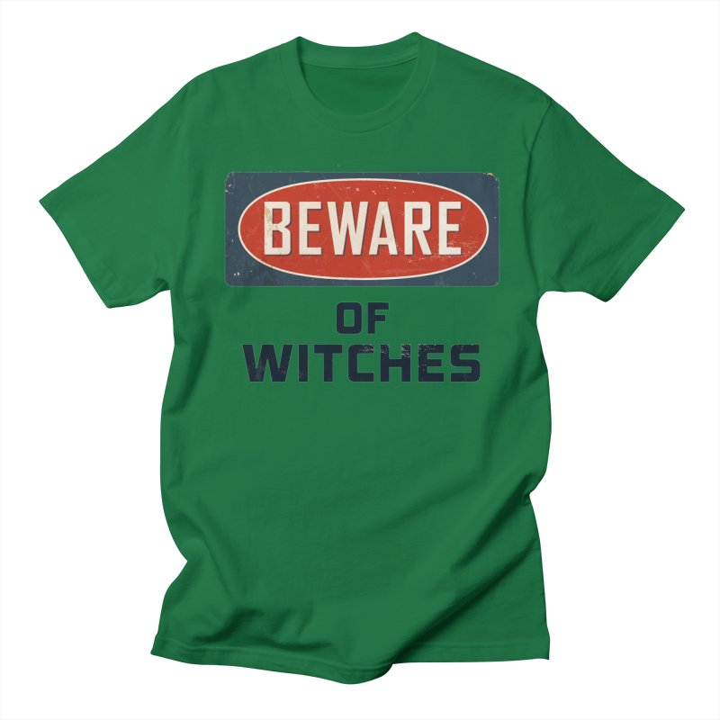 Bware Witch Men's Regular T-Shirt by DesignsbyAnvilJames's Artist Shop