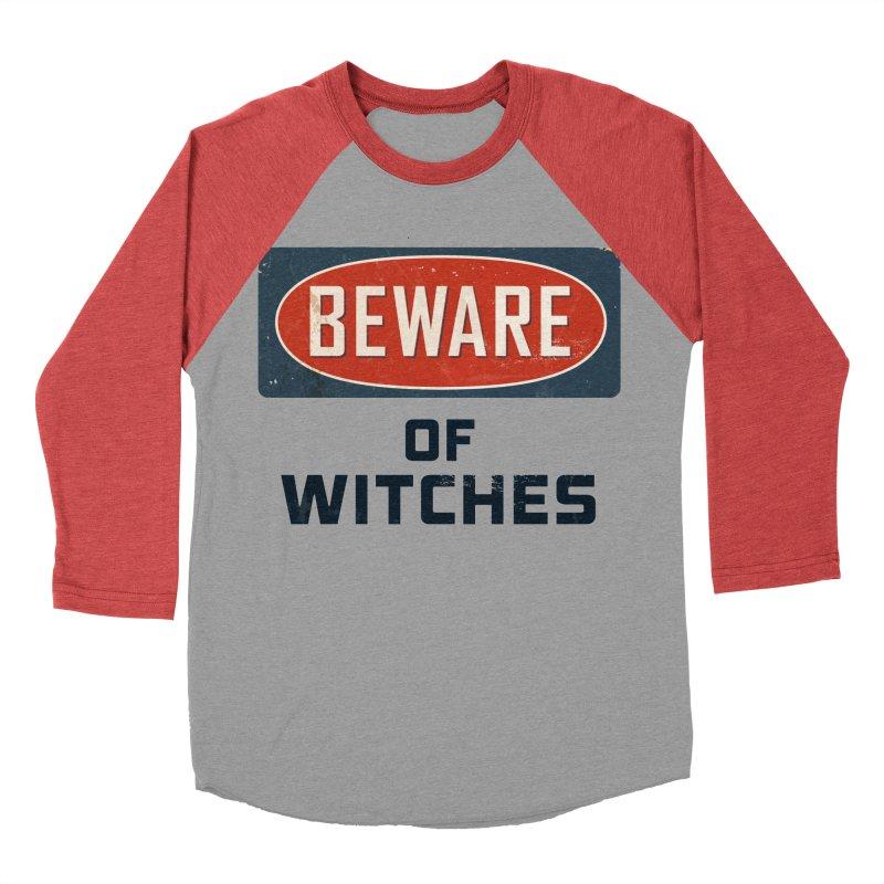 Bware Witch Women's Baseball Triblend Longsleeve T-Shirt by DesignsbyAnvilJames's Artist Shop
