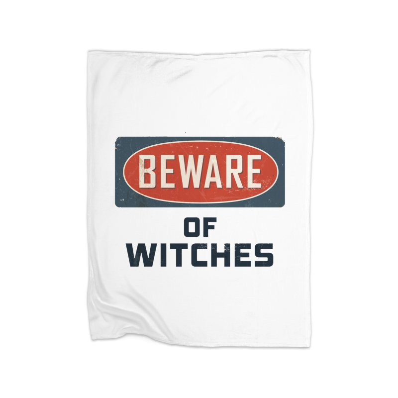 Bware Witch Home Fleece Blanket Blanket by DesignsbyAnvilJames's Artist Shop